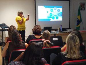 13.02.2020 - 9. Reunião da Rede de Ouvidorias - Cibele Flávia, da SDSCJ